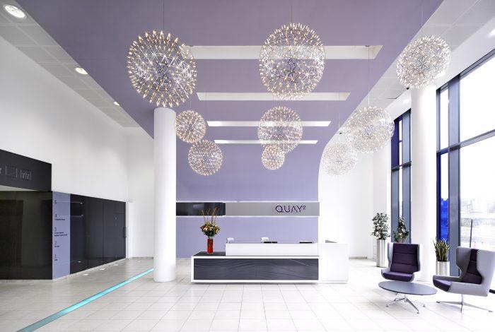 Bespoke-3D-Panel-In-Gloss-Metallic-Black-For-Office-Reception-Walls (6)